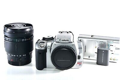 Canon Rebel XTi 400D DSLR Camera with 28-200mm AF Zoom Lens