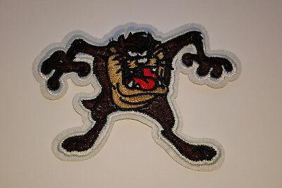Cartoon-patch (Tasmanischer Teufel Tez Cartoon Patch Aufnäher 11 * 8 cm)