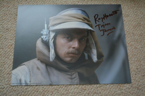 RAY HASSETT signed autograph In Person 8x10 STAR WARS EMPIRE STRIKES BACK