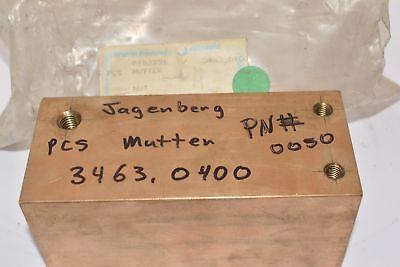 JAGENBERG 3463-0400-0050 Brass Mutter