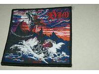 Dio Holy Diver//Murray Patch 10cm x 9cm