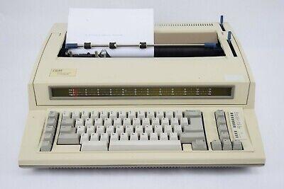 Ibm Wheelwriter 1000 6781-024 Vintage Electric Typewriter