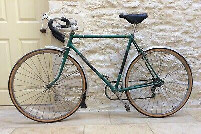 BSA Sportsman Racer Road Bike Bicycle 1960s Green/Black Vintage Retro steel orig