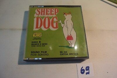 C69 Bande Super 8 - Sheep Dog Coyote - film - bobine warner bros