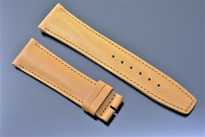 Original Gucci Uhrenarmband Herren Echt leder 22 mm Band Camel Caramel Braun