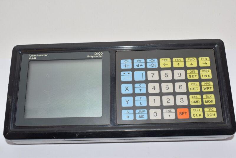 Eaton Cutler Hammer D100PG10A Programmer D100 Controller