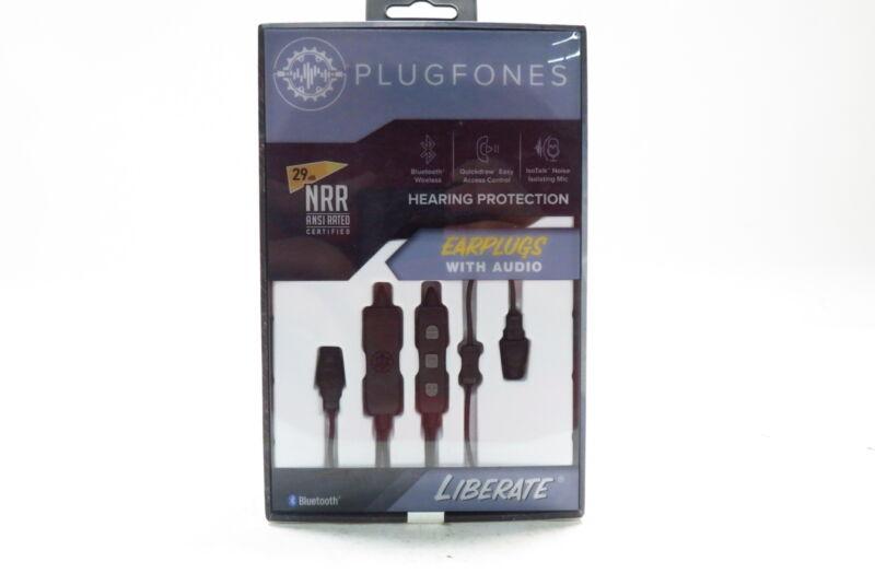 Plugfones Liberate Wireless Bluetooth In-Ear Earplug Earbuds