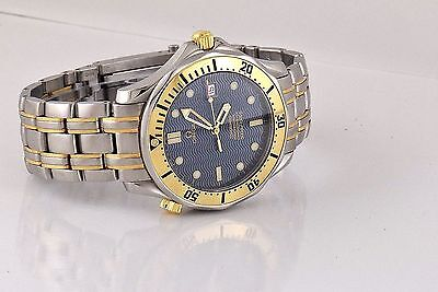 Omega Seamaster Professional 300. 18k Gold and Stainless.Full Sz.Automatic.Mens