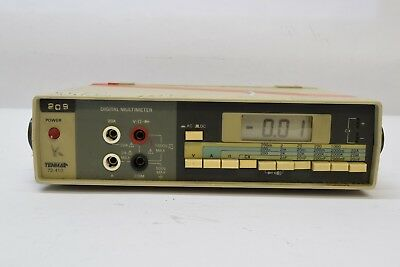 Used Mcm Tenma 72-410 Bench Test Digital Multimeter Battery Operated Guaranteed