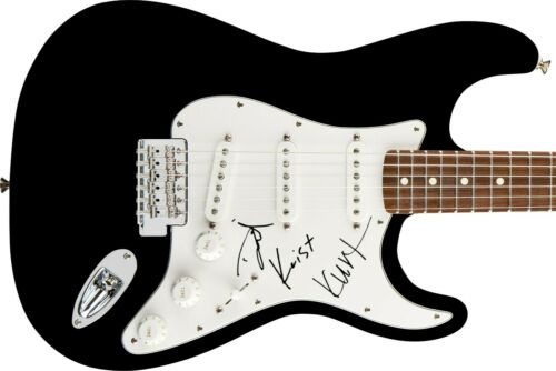 Nirvana Autographed Signed Guitar