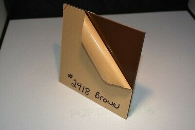 Brown Plexiglass Acrylic Sheet Color 2418 Brown 18 X 7 X 11