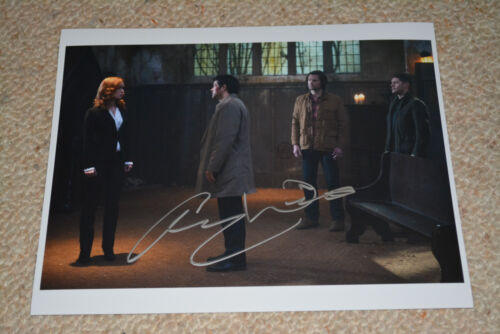 ALICIA WITT signed Autogramm In Person 20x25 cm SUPERNATURAL Lily
