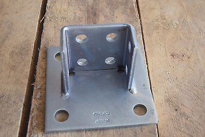 Qty 1 Unistrut P2073a Sq Eg Squared Post Base Double Channel
