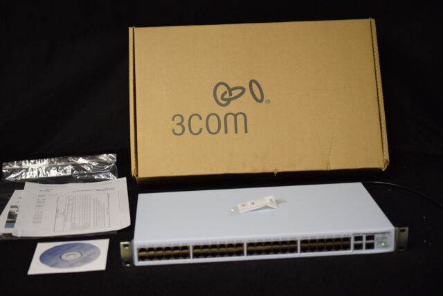 3COM 3C16476CS Baseline 2250 Plus 48-Port Managed Switch