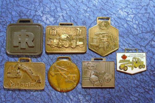 14 Miscellaneous Heavy Equipment Watch Fobs