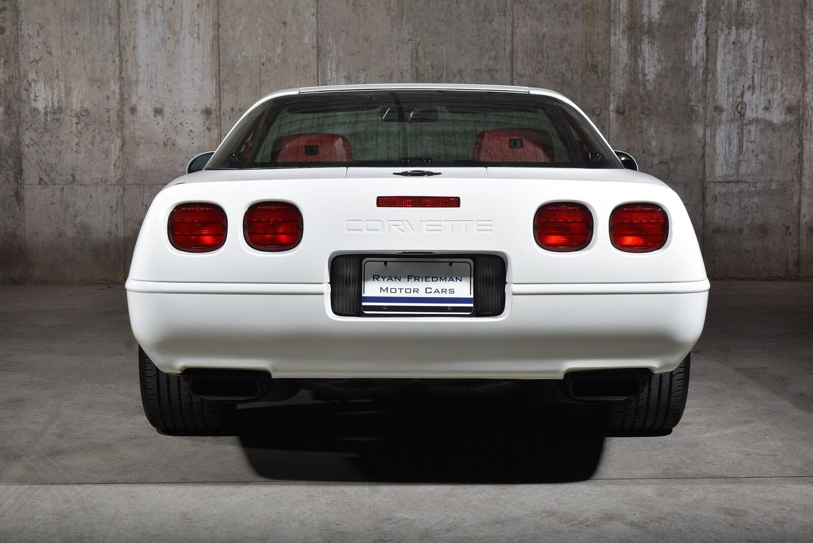 1992 White Chevrolet Corvette   | C4 Corvette Photo 5