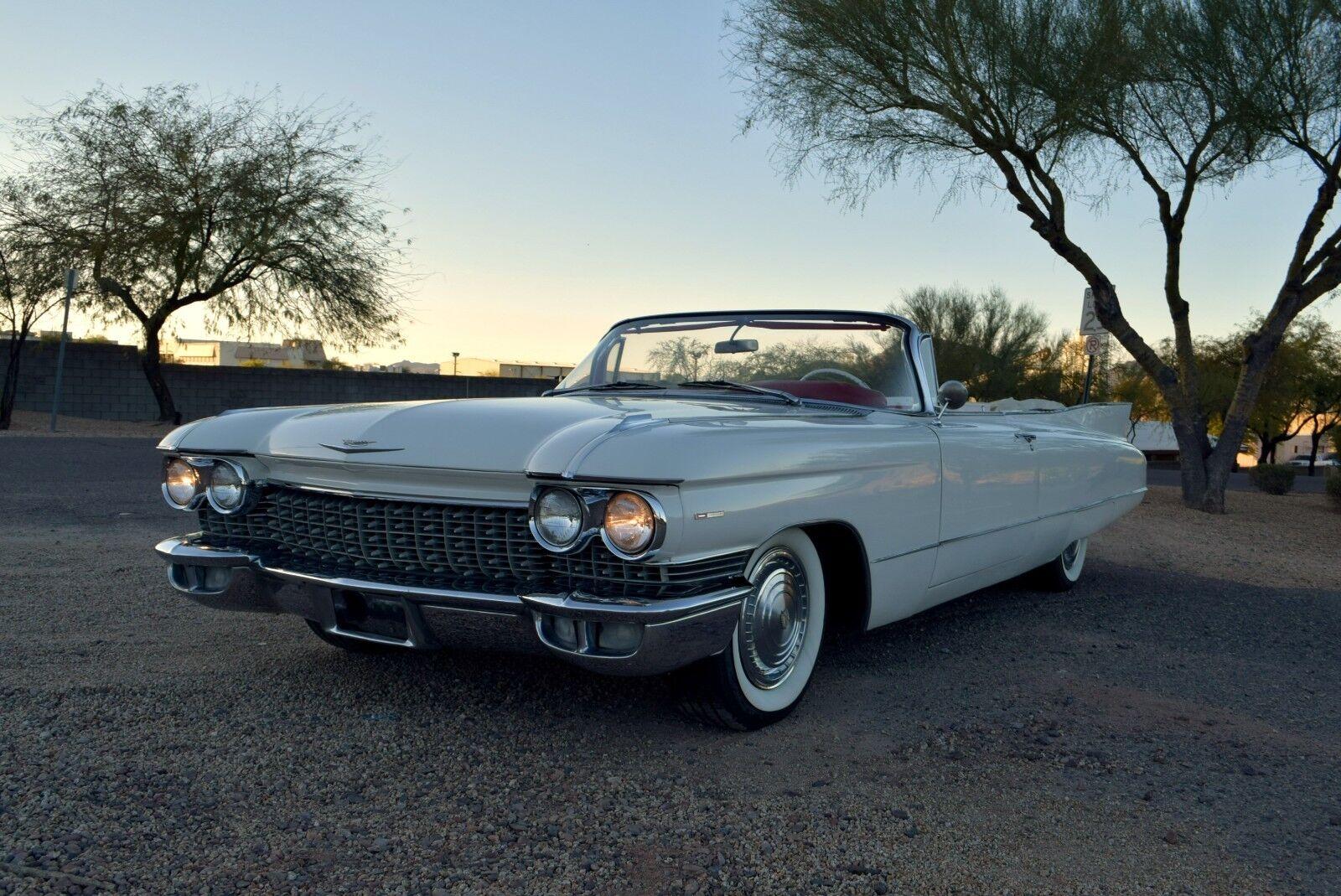 1960 Cadillac Deville Series 62 Convertible 1960 Cadillac Series 62 Convertible - Fresh Paint, Interior, & Top - NICE Driver