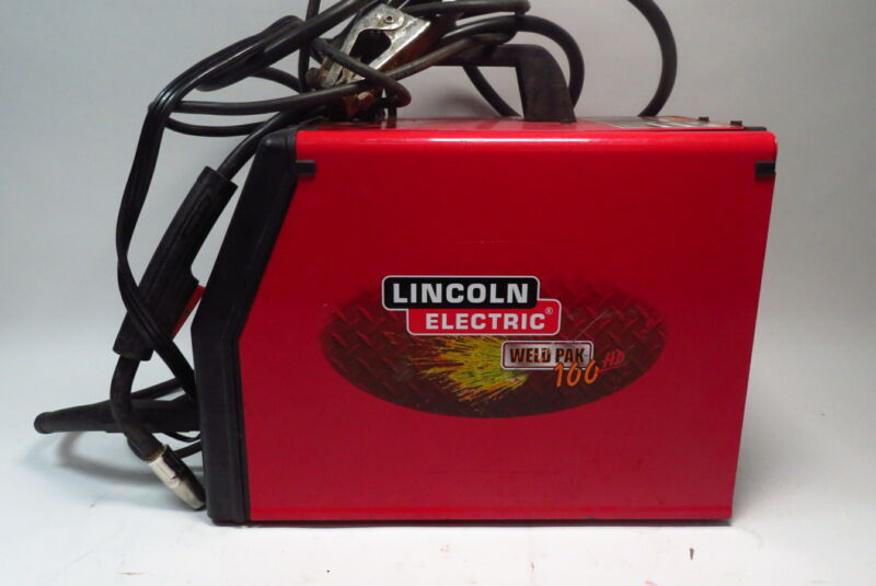 Lincoln Electric Weld Pak 100 HD Welder - Red