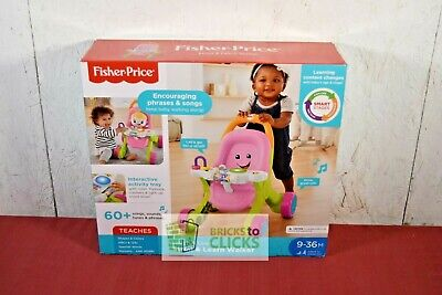 Fisher-Price Stroll and Learn Walker - Pink