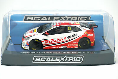 Scalextric BTCC Honda Civic Type R Slot Car 1:32 - Gordon Shedden 2015