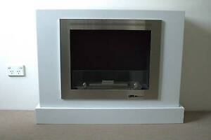 Black & Stone Ethanol Fireplace Meadowbank Ryde Area Preview