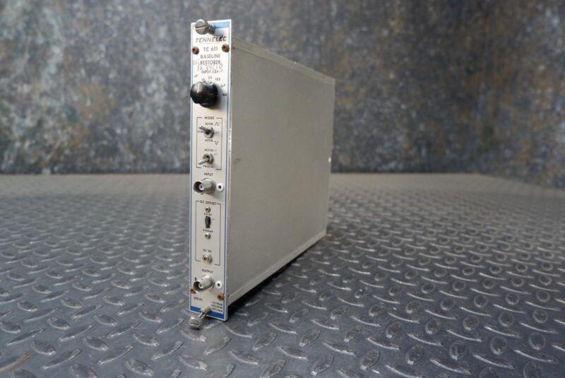 Tennelec TC 611 Baseline Restorer NIM BIN Module