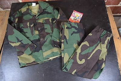 Fantasy by Puppet Workshop Boys Army Man Costume XS 2/4