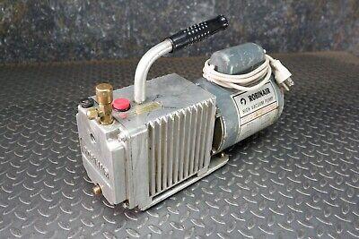 Robinair 15101-b High Vacuum Pump 5cfm 115vac 26 In. Hg.