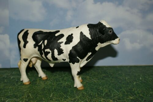 Black & White Holstein Bull by Schleich Dairy Farm Life 2007