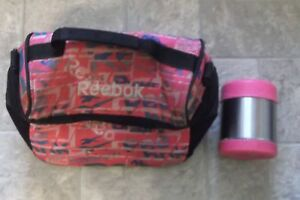 Reebok Lunch bag + Thermos
