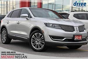 2016 Lincoln MKX Reserve RESERVE FULLY LOADED! ACCIDENT FREE