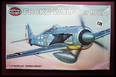 Airfix Focke Wulf Fw 190A/F 1:24 Scale Model Kit 16001 X2 Decal Sets