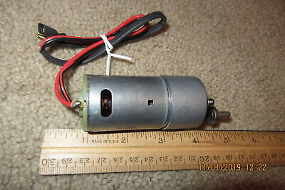 Small Dc Electric Motor 6 Vdc 25 Rpm Gear Motor M125