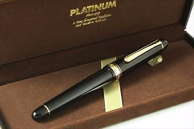 Fountain Pen PLATINUM #3776 Century Music nib 14k calligraphy Japan F/S Track