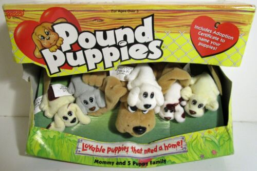 Galloop Lot of Pound Puppies, Ponies, Bunnies & Jungle Lot of 6 Items