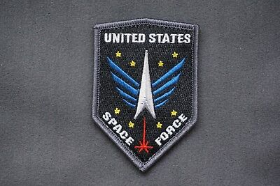 US SPACE FORCE EMBLEM MORALE PATCH - united states air military tactical navy