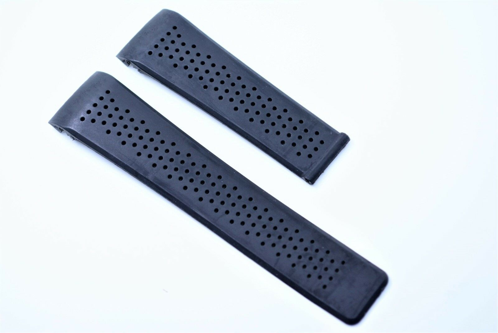 Uhrenarmband 24 mm 22 mm Schwarz für Tag heuer Carrera Calibre watch band rubber