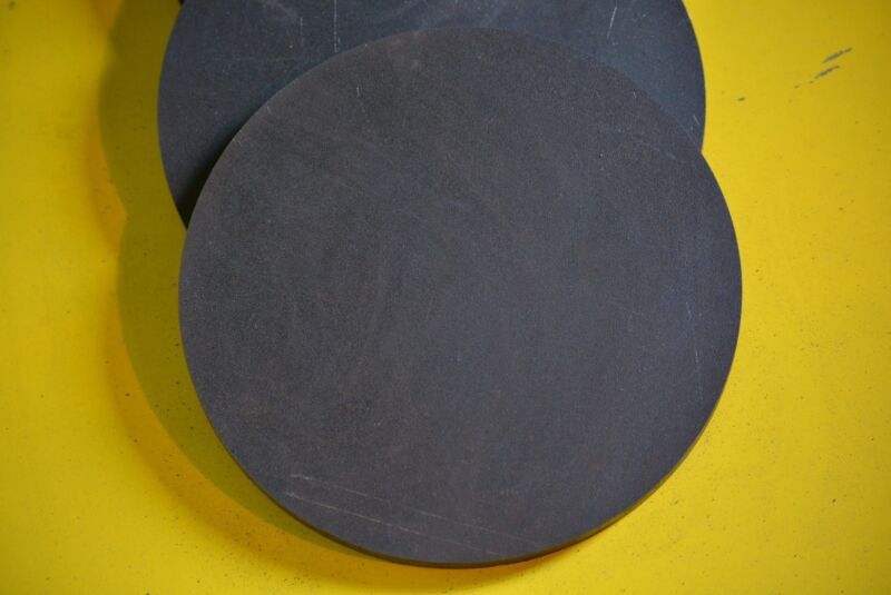 """1/2"""" .500 HRO Steel Sheet Plate Disc Shaped 9""""  A36, Round"""