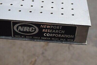 Newport Rsearch Optical Table- 60 X 48 X 2-14 Nrc Breadboard Plate Laser Lab