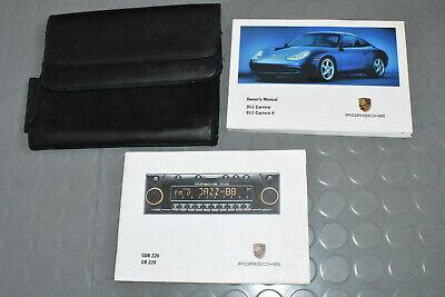 2000 Porsche Carrera, C4 Owners 996 911 Manual - Set