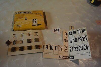 C103 Ancienne pièce pour jeu de train MARKLIN 12