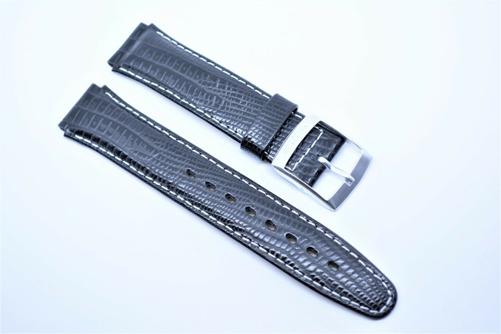 UNITED COLORS OF BENETTON Chronograph Uhrenarmband Ersatzband  17 Schwarz silber