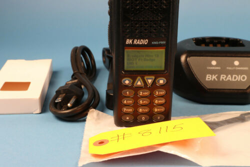 BK KNG P800 P25 TDMA Fully Loaded with Accessories #8115