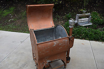 Vintage Thor Electric Clothes Washer Washing Machine Mangle Appliance Copper Lid