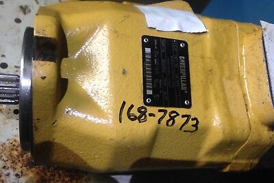 Caterpillar Hydraulic Pump 924g Loader 168-7873used Good Shipping Available