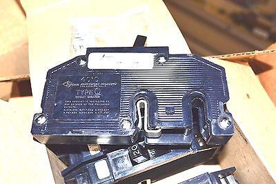 NEW 20A ZINSCO 20 Amp Single Pole Circuit Breaker Q 6849-12001 CU-AL NOS MinT! Amp Single Pole Circuit Breaker