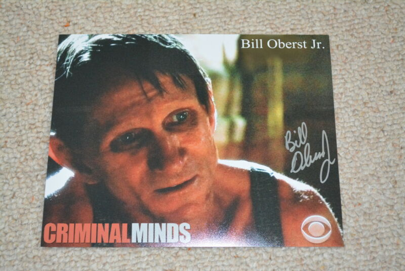 BILL OBERST JR. signed autograph In Person 8x10 20x25 cm  CRIMINAL MINDS