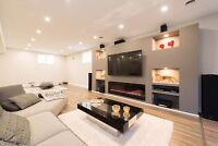 Home renovation and Basement renovation with finance solutions