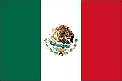 Home Decoration - Mexico Flag Vinyl Decal / Sticker ** 5 Sizes **