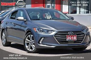 2018 Hyundai Elantra GLS GLS - Leather Seats|Bluetooth|Sunroof